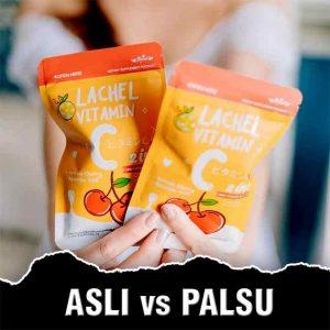 Perbedaan Lachel Vitamin C Asli dan Palsu | Review, Manfaat, Harga, Cara Minum & Efek Samping