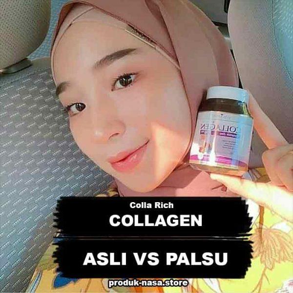 Perbedaan Colla Rich Collagen Asli dan Palsu : Review, Manfaat, Komposisi, Cara Minum, Efek Samping & Bahaya