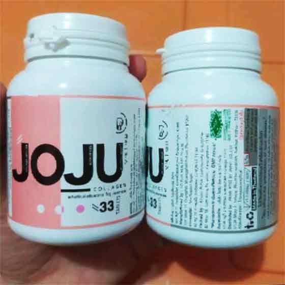 botol kemasan perbedaan joju collagen asli dan palsu