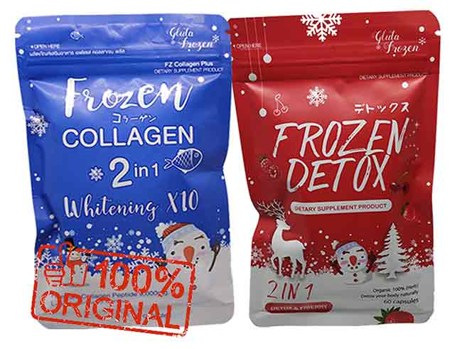 manfaat frozen collagen biru dan merah