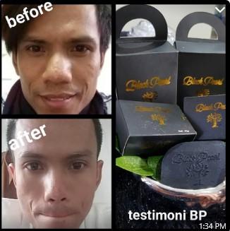 testimoni sabun black pearl untuk pria