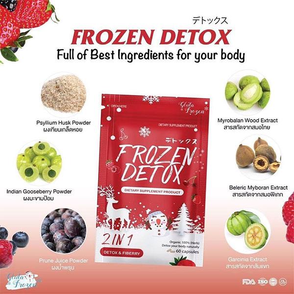 Kandungan & Komposisi Frozen Detox 2in1