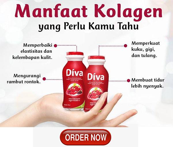 diva minuman collagen paling bagus aman dan halal