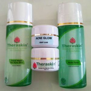 review theraskin acne glow original