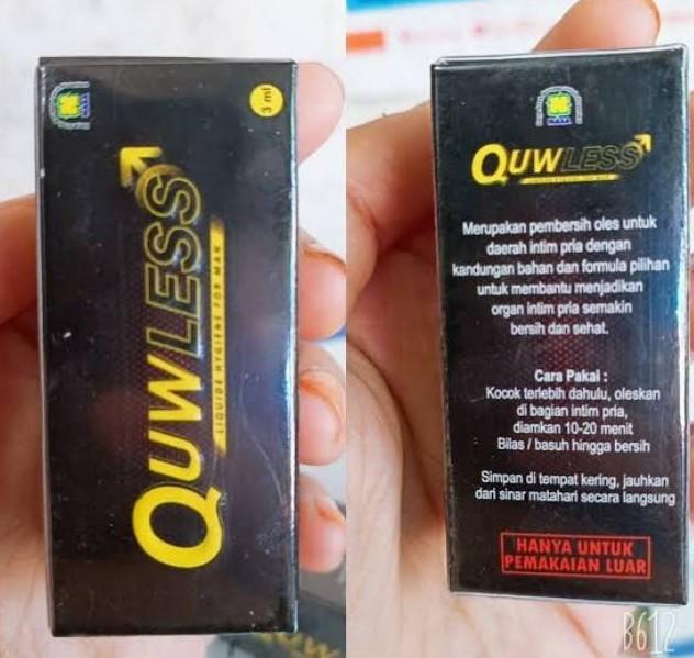efek samping dan cara pemakaian quwless nasa